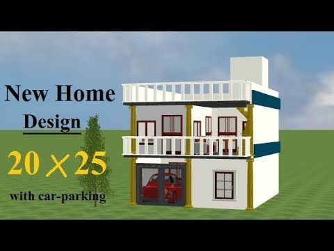 20 By 25 Home Design 20 25 House Plan 20 By 25 House Plans Free Youtube 20x30 House Plans 3d House Plans House Plans