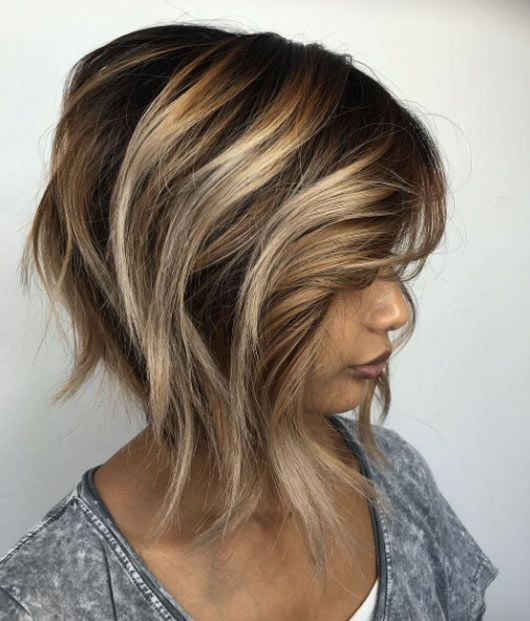 Light brown and blon
