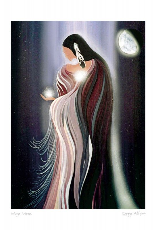 """May Moon 1"" by Betty Albert                                                                                                                                                                                 More"