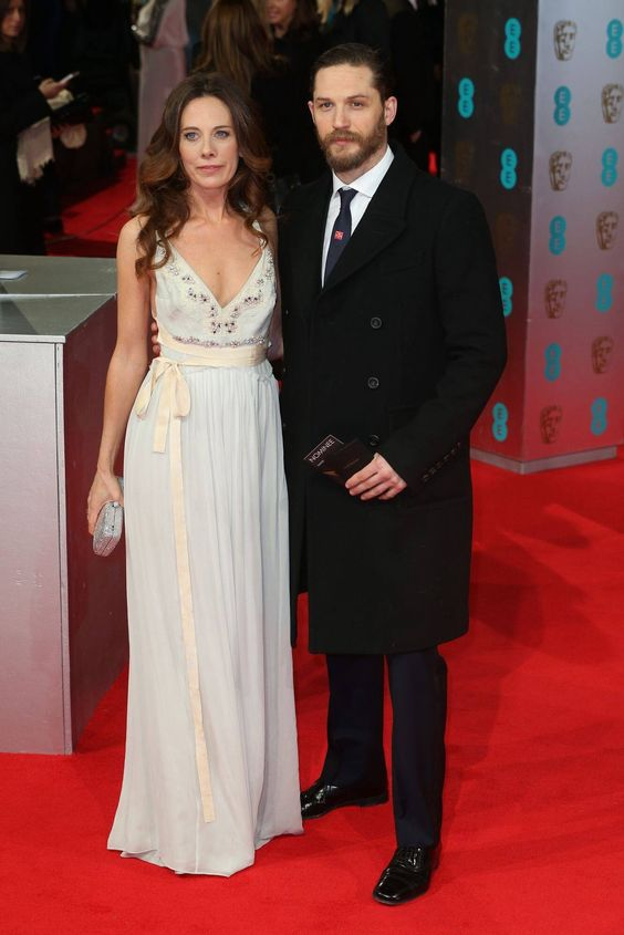 Tom and Kelly at the BAFTAS