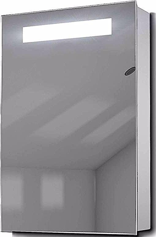Armoire De Toilette Avec Capteur Et Prise Rasoir Interieure K258w Couleur Led Blanc Diamond X Collection Ceiling Lights Track Lighting Bathtub