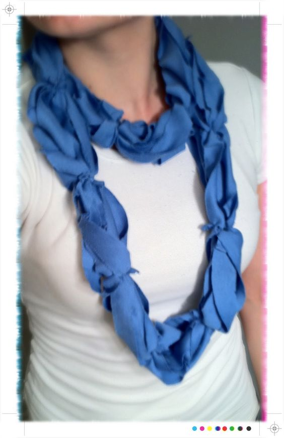 infinity t-shirt scarf NO-SEW