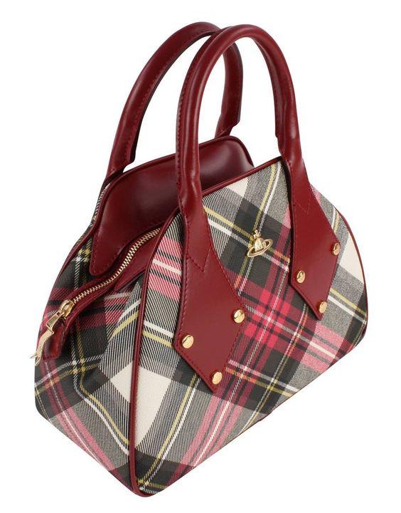 Tartan Bags | Vivienne Westwood Derby Bag - New Exhibition | @ KJ Beckett - Stunning Collection Online!