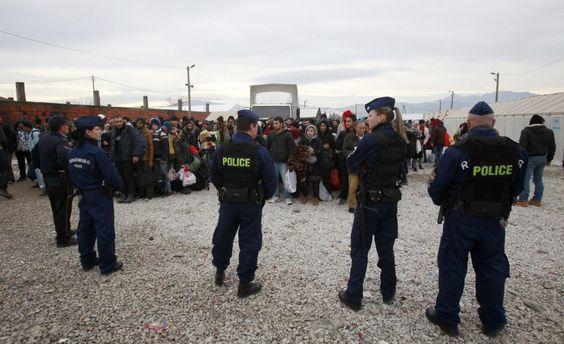 Grenzpläne in Mazedonien: Frontstaat gegen dieFlüchtlinge - SPIEGEL ONLINE - Politik