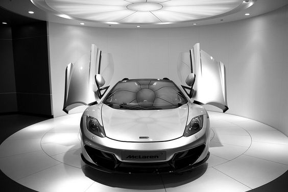 McLaren MP4-12C Spider 50th Anniversery edition.