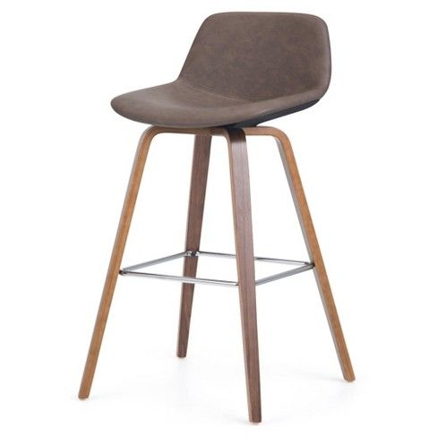 Stupendous Cacey Bentwood Counter Height Stool Set Of 2 Wyndenhall Machost Co Dining Chair Design Ideas Machostcouk