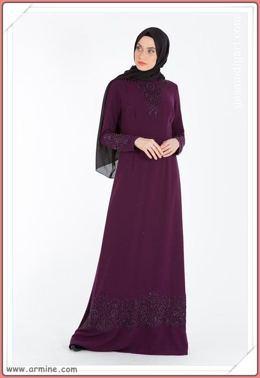 Armine Tesettur Abiye Modelleri 2019 Lookbook Elbise Elbise Modelleri Moda