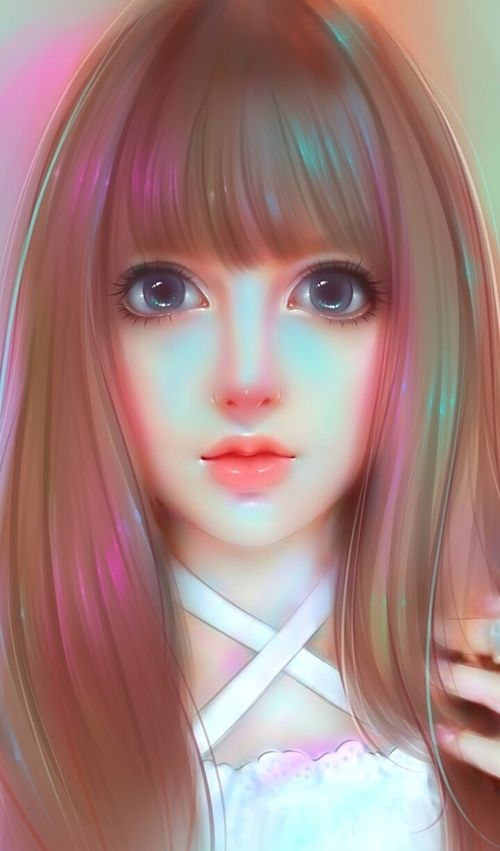 Anime Art Art Girl Background Beautiful Beautiful Girl Beauty Cartoon Colorful Design Drawing Fashion Fashio Art Girl Cute Girl Wallpaper Girly Art