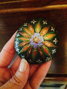 Fiora Design by RockWater Designs: Hand-painted Rocks/Crystals Crafted and Designed with LOVE