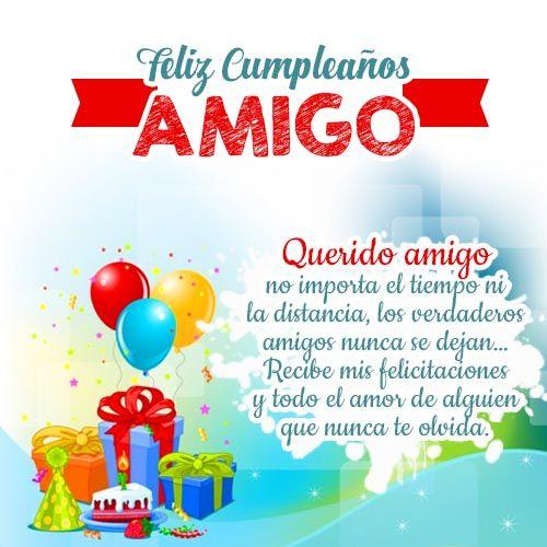 Frases De Cumpleaños Mensajes Para Dedicar En Cumpleaños Feliz Cumpleaños Amigo Especial Feliz Cumpleaños Amiga Postales De Feliz Cumpleaños