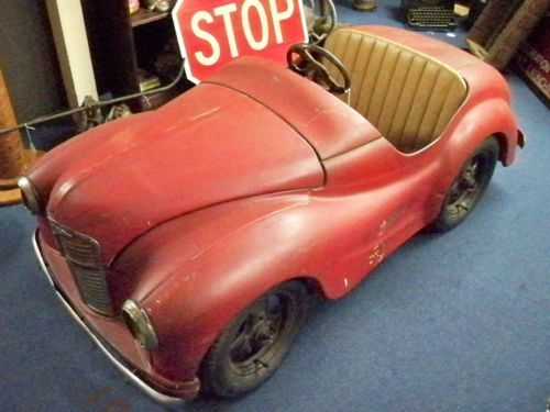1949 AUSTIN J 40 PEDAL CAR Restoration England Allen Chevrolet 101 Armour Rd