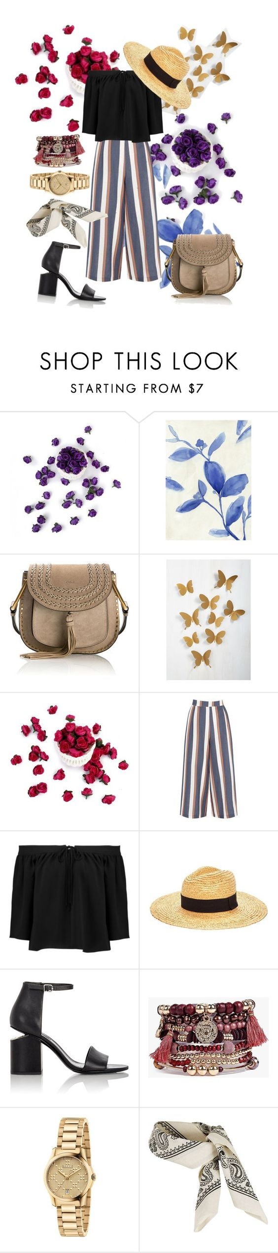 """Natural"" by souljuicex1201 ❤ liked on Polyvore featuring Barclay Butera, Chloé, Warehouse, Elizabeth and James, Glamorous, Alexander Wang, Boohoo, Gucci and Topshop"