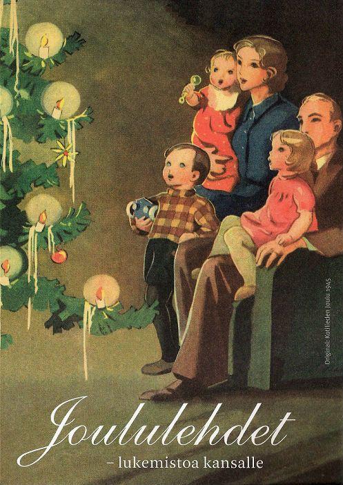 Martta Wendelin (1893-1986) - Vintage Chritmas Card: