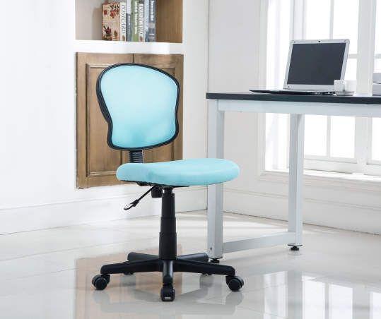 Just Home Aqua Mesh Swivel Desk Chair Big Lots Swivel Chair Desk Space Furniture Chair