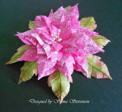 Selma's Stamping Corner and Floral Designs: Poinsettia Tutorial