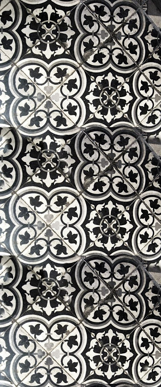 Tile white tiles and black and white tiles on pinterest for Black and white tile floors