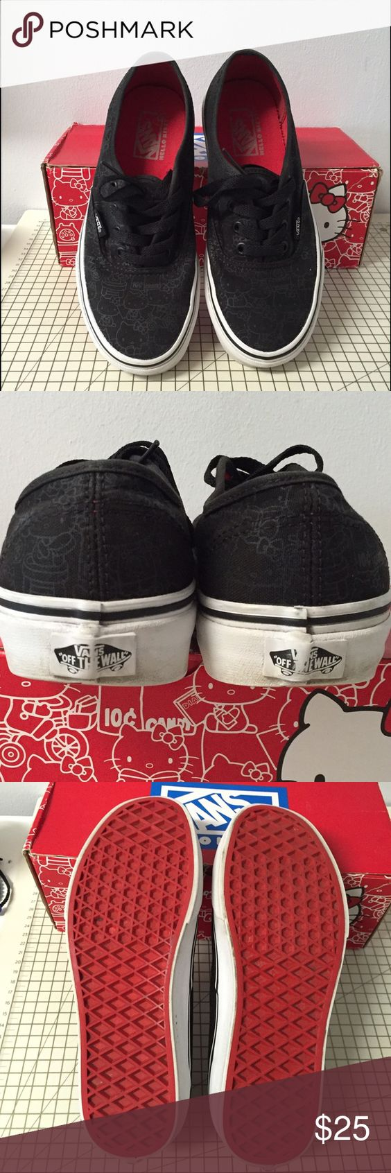 Hello kitty vans In good condition Vans Shoes Sneakers