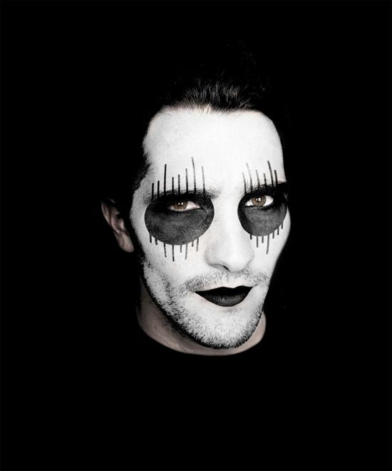 Black And White Face Makeup Ideas - Mugeek Vidalondon