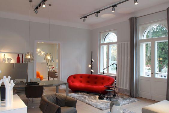 sofa ploum impressionen von ligne roset in potsdam. Black Bedroom Furniture Sets. Home Design Ideas
