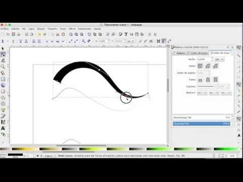 Como hacer dibujos en la computadora con Inkscape  Parte 7
