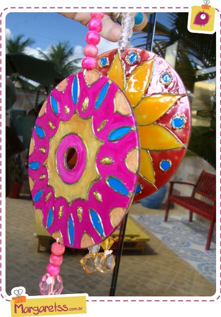 mandalas de cd: With Cds, Mandalas, Craft Ideas, Upcycling Cds, Old Cds