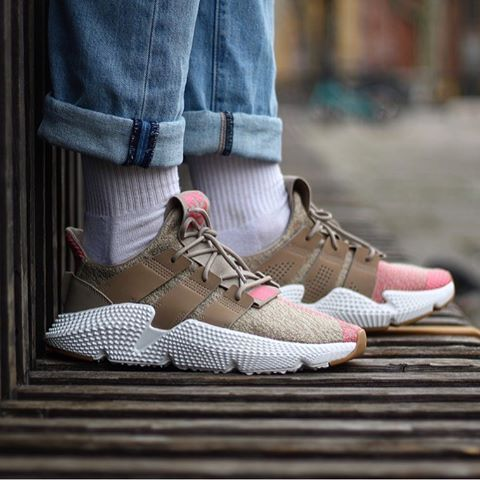 Adidas Prophere «Khaki/Pink» CQ2128 Size chart 40 to 45 ...