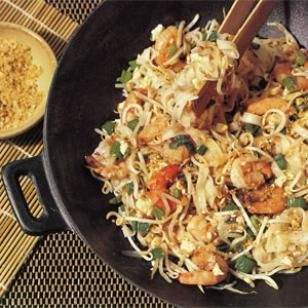 Very yummy pad thai and so easy to make.