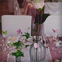 Hochzeitsfloristik Tischfloristik | weddstyle
