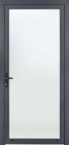Urbana - Porte d'entrée aluminium contemporaine grand vitrage Bel'M