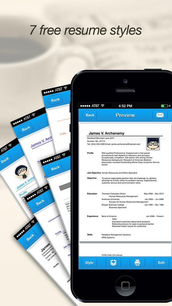 DocScanner PRO 스캔어플 business Pinterest Optical character - mobile resume maker