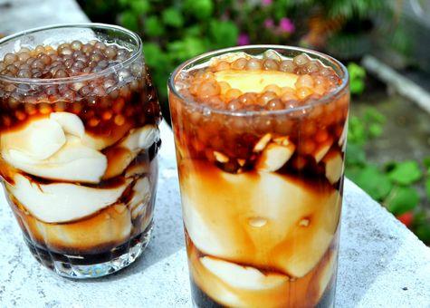 How To Make Taho Silken Tofu With Sago Pearls And Brown Sugar Syrup