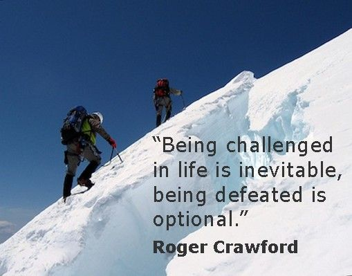 Roger Crawford energizes audiences with specific peak performance strategies, enabling them to break through self imposed limits. He delivers high impact presentations filled with cutting edge ideas that inspire all to sustain a positive mindset!  Sign Up For Roger Crawford's  E • Spire Newsletter @ http://www.rogercrawford.com/