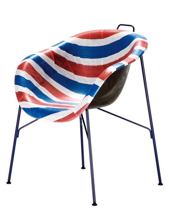 La silla Euphoria, de Navone para Eumenes ...