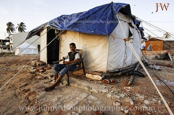 Life after the 2004 tsunami at Hambantota, Sri lanka. Photography by John Wilson www.johnwilsonphotographer.com.au