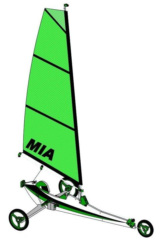Mia Trike A Sail Pantera Rc Land Yacht Radio Control Radio Controlled Boats Radio Controlled Cars