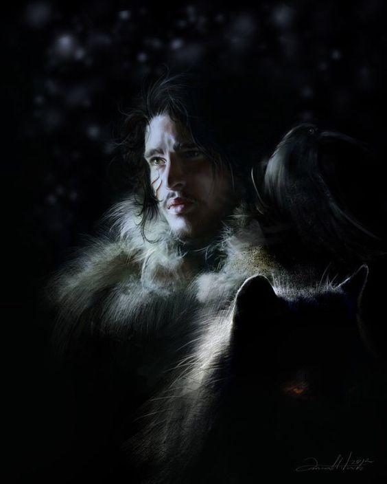 Jon Snow by dalisacg on @DeviantArt