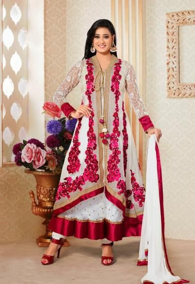 Suits, Anarkali suits and Dresses on Pinterest