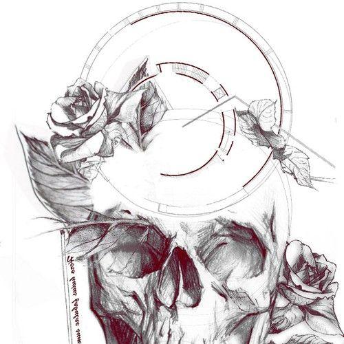 Hip - Dark - Sketch Tattoo Design Needed! Réalisé par Idet87