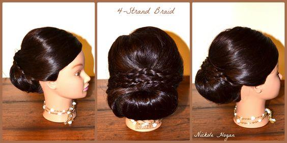 #4strandbraid #funbraids #bridal #utahhairsalon #cherrybombsalonutah