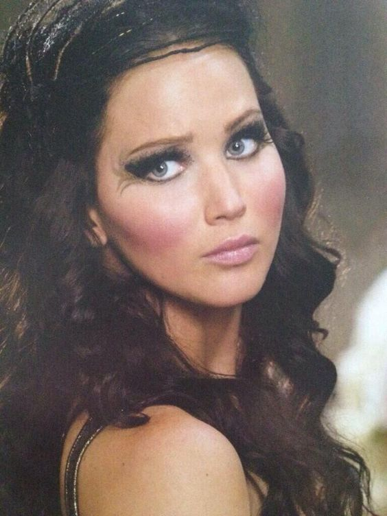 Katniss everdeen, Catching fire and Makeup on Pinterest