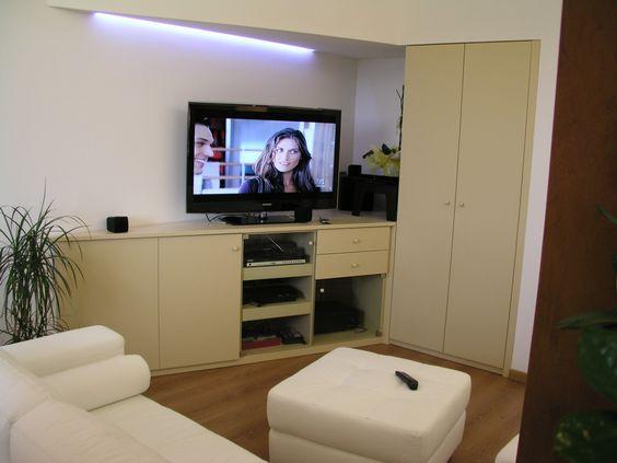 arredamento zona giorno classico e moderno su misura | mobile tv ... - Mobili Tv Su Misura