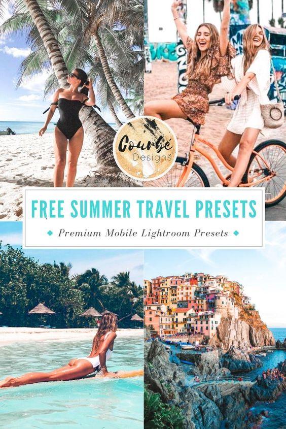 FREE SUMMER TRAVEL MOBILE LIGHTROOM PRESET PACK!   EXCLUSIVE OFFER - DOWNLOAD HERE!
