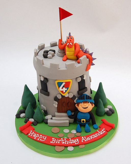 Mike the knight cake...