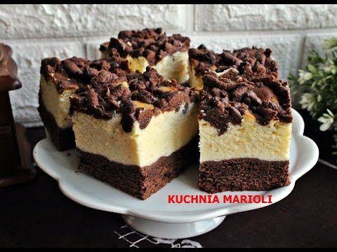 Sernik Na Ciemnym Spodzie Filmik Kulinarne Fantazje Marioli Cake Recipes Desserts Food