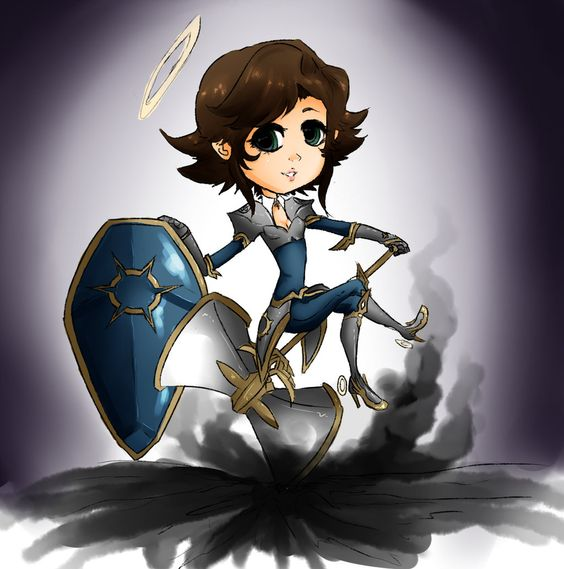 Dungeons and Dragon: Onette the Cleric by The--Summoner.deviantart.com on @DeviantArt