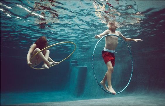 一起悠遊水底的「童樂」世界。