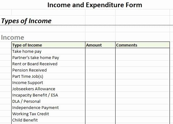 Income And Expense Statement Template Elegant Free In E And Expense Forms In E And Expen Statement Template Profit And Loss Statement Income Statement Template