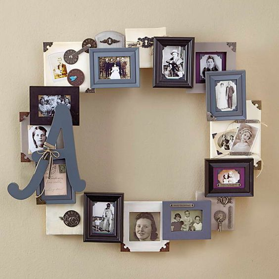 Displaying picture frames frame ideas for decorating for Cool picture frame designs