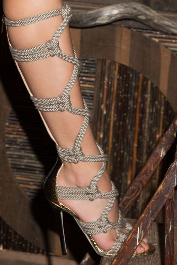 Leave it to Jimmy Choo to make the season's sexiest shoe...