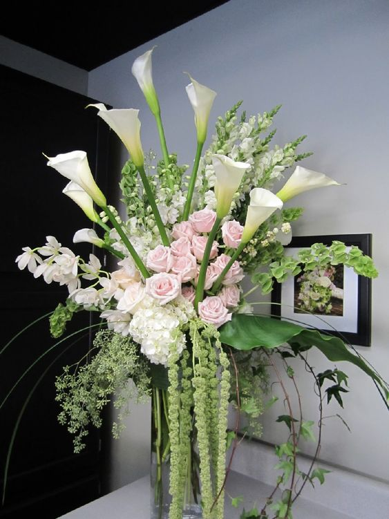 Best Beautiful Tall Floral Arrangement Pictures 57 - Awesome Indoor & Outdoor